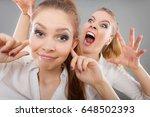 conflict  bad relationships ...   Shutterstock . vector #648502393