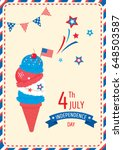 ice cream cone design for happy ...   Shutterstock .eps vector #648503587