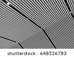 abstract architectural... | Shutterstock . vector #648526783