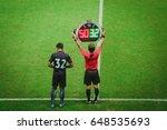 substitute player | Shutterstock . vector #648535693
