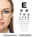 woman patient checking the... | Shutterstock . vector #648538483