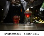 a photograph of gin cocktail... | Shutterstock . vector #648546517