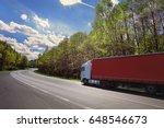 truck on the road | Shutterstock . vector #648546673