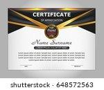 template certificate of
