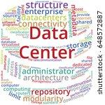data center word cloud text...   Shutterstock .eps vector #648572887