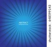 radial line vector on blue...   Shutterstock .eps vector #648599143