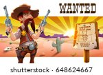 Wild West Landscape With Cool...