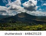 mount agung volcano | Shutterstock . vector #648625123