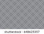 geometric pattern in floral...   Shutterstock .eps vector #648625357