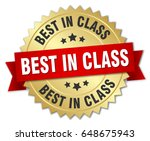 best in class round isolated... | Shutterstock .eps vector #648675943