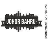 johor bahru skyline silhouette... | Shutterstock .eps vector #648701293