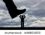 humiliation and disrespect the... | Shutterstock . vector #648801853