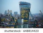 london  uk   december 19  2016  ... | Shutterstock . vector #648814423
