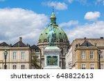 frederik's church  the marble...   Shutterstock . vector #648822613