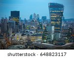 london  uk   december 19  2016  ... | Shutterstock . vector #648823117