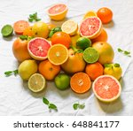 a large assortment of colorful... | Shutterstock . vector #648841177
