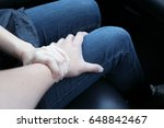 sexual harassment concept of a... | Shutterstock . vector #648842467