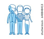 lovely grandparents with young... | Shutterstock .eps vector #648848413