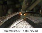 overlay welding hard surfacing... | Shutterstock . vector #648872953