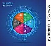 vector infographic of...   Shutterstock .eps vector #648874303