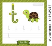 letter t lowercase tracing... | Shutterstock .eps vector #648919357
