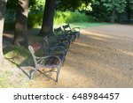 bench | Shutterstock . vector #648984457