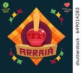 arraia  means village  also... | Shutterstock .eps vector #649014283