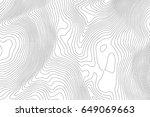vector topographic map... | Shutterstock .eps vector #649069663