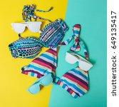 Two Women's Swimwears And...