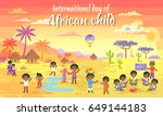 international day of african... | Shutterstock .eps vector #649144183