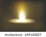 vector illustration of a golden ... | Shutterstock .eps vector #649160827