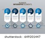 modern infographic template | Shutterstock .eps vector #649201447