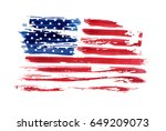 usa independence day background.... | Shutterstock .eps vector #649209073