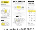 business employment big modern... | Shutterstock .eps vector #649220713