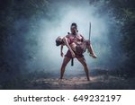 loss on the battlefield ... | Shutterstock . vector #649232197