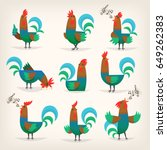 Rooster Character From Many...