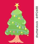 christmas tree | Shutterstock .eps vector #6492688