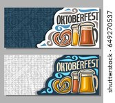 vector horizontal banners for... | Shutterstock .eps vector #649270537