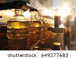 sunflower oil production plant. ... | Shutterstock . vector #649277683