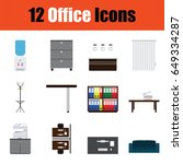 flat design office furniture...