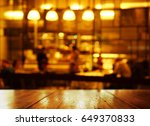 blur bar or pub party in the... | Shutterstock . vector #649370833