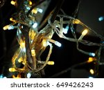 festive lights | Shutterstock . vector #649426243