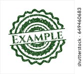 green example rubber seal with...   Shutterstock .eps vector #649460683
