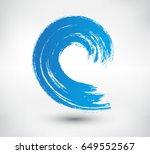 vector brush wave.grunge...   Shutterstock .eps vector #649552567