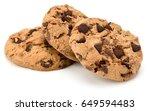 Three Chocolate Chip Cookies...