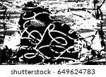 background black and white... | Shutterstock .eps vector #649624783