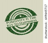 green positivity is the key to...   Shutterstock .eps vector #649645717