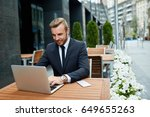 productive time outside the... | Shutterstock . vector #649655263