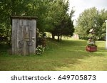 Vintage Missouri Outhouse