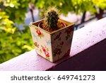 the cactus | Shutterstock . vector #649741273
